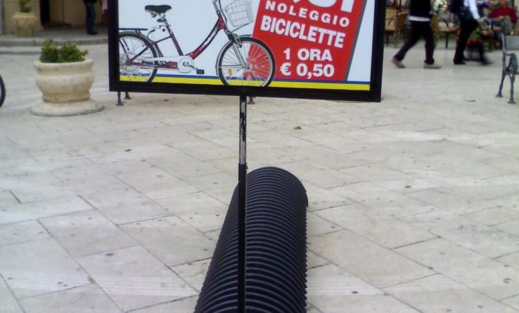 Scomparse 90 biciclette (e le rastrelliere) comprate dal Comune di Mazara