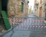 Crollo nel centro storico: non è la prima volta