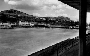 Un'immagine d'epoca del campo sportivo Palmintelli