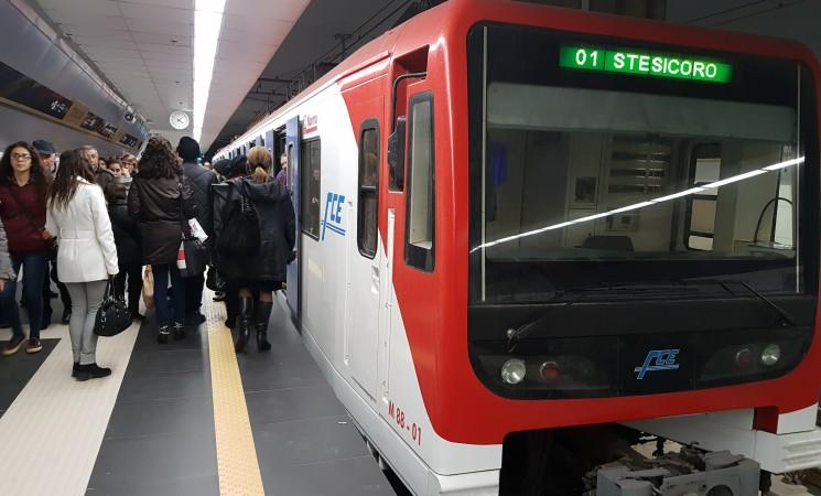 Metropolitana, a Catania la linea cresce bene. Ma l'Italia resta molto indietro