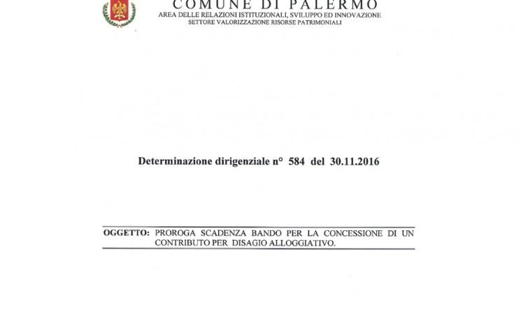 Palermo. Contributo per gli alloggi - solo 68 le istanze presentate