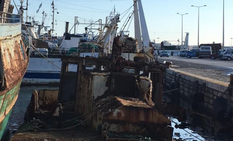 Mazara. Altre barche affondate, stavolta al porto nuovo