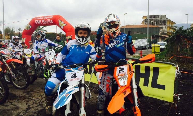 Motocross, i giovani sportivi siciliani si mettono in gioco
