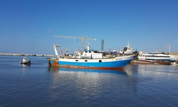 Il porto delle sabbie incastra i pescherecci
