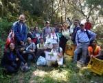 Cinquanta soci di Natura Sicula ripuliscono il Vallone Moscasanti
