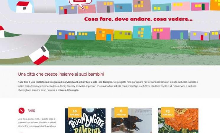 Nasce a Catania KidsTrip, piattaforma dedicata ai più piccoli