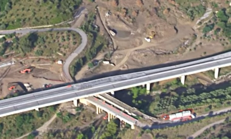 Anas, bando di gara per la ricostruzione del viadotto 'Himera'