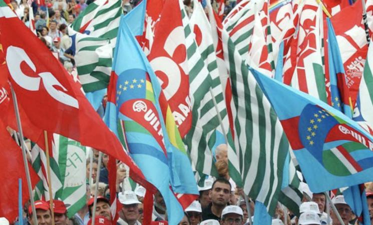 Lavoro, Cgil, Cisl e Uil in piazza a Palermo il 18 settembre