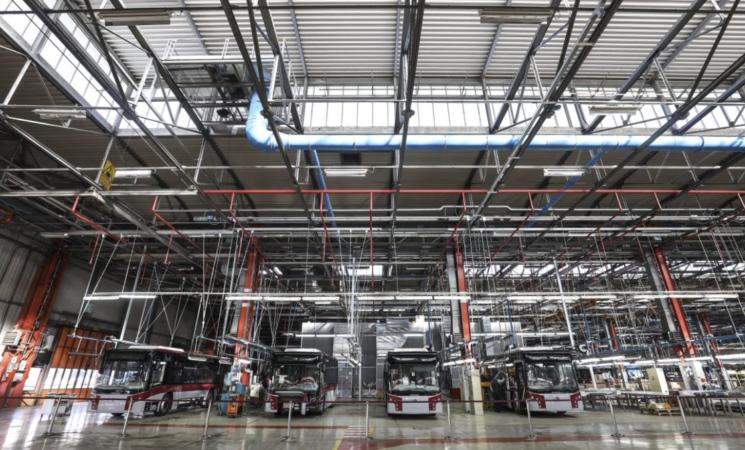 Ue, a luglio produzione industriale +4,1%