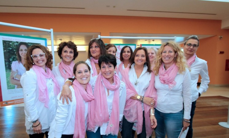 Tumore al seno e prevenzione, Al via il progetto Sorrisi in rosa