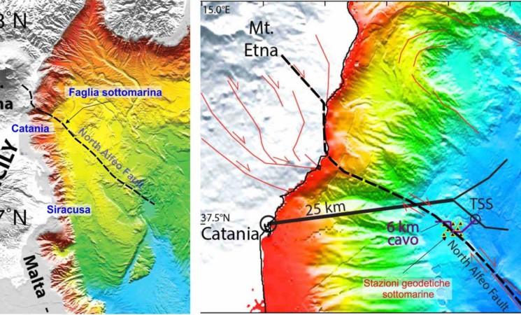 Terremoti, team internazionale studia le faglie sottomarine siciliane
