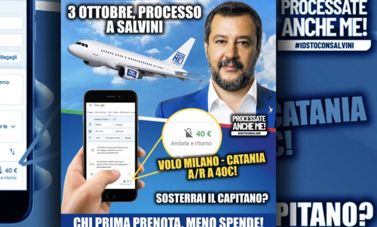 """Gregoretti, Salvini e l'invenzione del """"turismo processuale"""""""