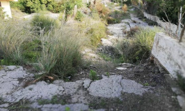 A Palma Montechiaro messa  in sicurezza della strada comunale
