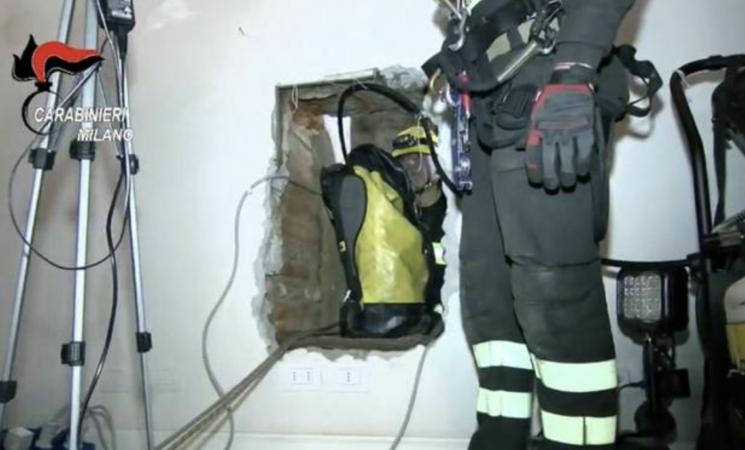 Mafia, cadavere murato nel Milanese, un arresto in Sicilia