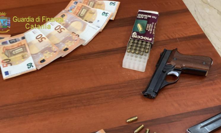 Tassi usurai a imprenditore, un arresto della Finanza a Catania