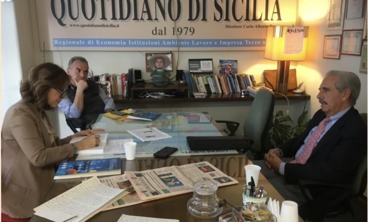 Diego Bivona, serve maggiore coesione per dialogare con Pa e politica