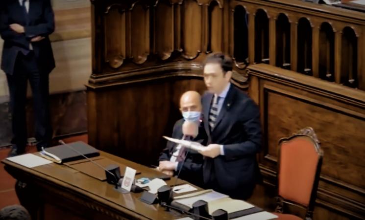 """Ars, Calderone (FI): """"Errore tecnico nella votazione della censura a Razza"""""""