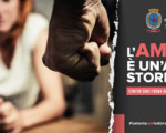 Catania, monumenti illuminati di rosso contro la violenza sulle donne