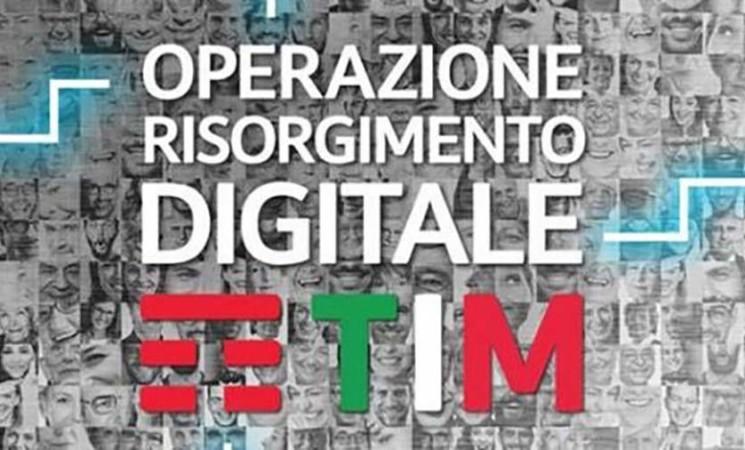 TIM, Operazione Risorgimento Digitale per la rimonta digitale del Paese