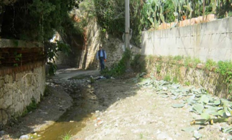 Rischio esondazioni, Spadafora, in sicurezza il torrente Acquavena