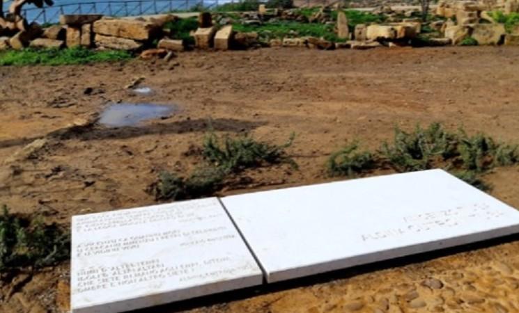 Parco di Selinunte, un giardino della memoria per gli archeologi Tusa