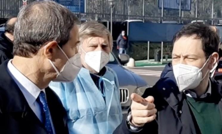Natale, Musumeci e Razza al Policlinico di Catania per gli auguri