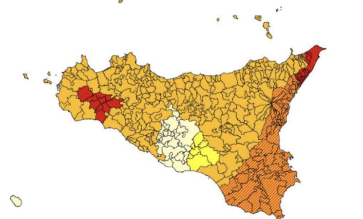 Terremoti, la Sicilia in zona rossa-arancione, l'altra cartina del rischio che sottovalutiamo