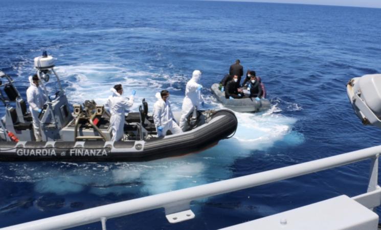 Migranti: sbarcati 59 tunisini a Lampedusa