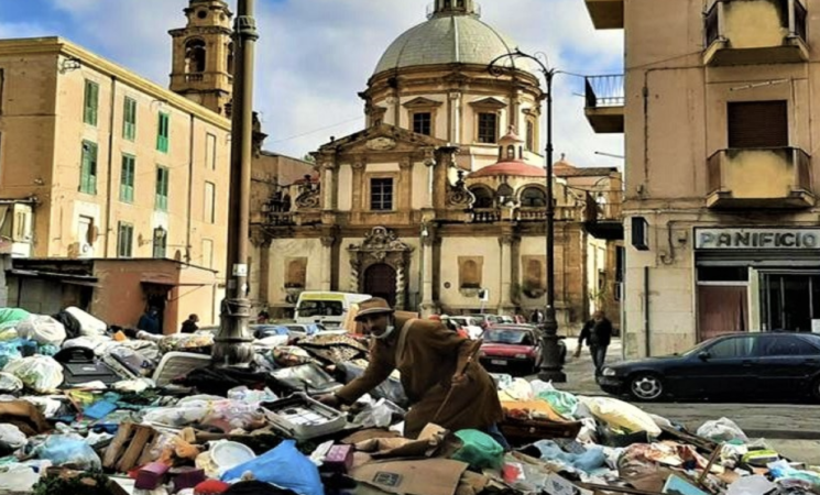 Rifiuti, non si è ancora conclusa l'emergenza a Palermo