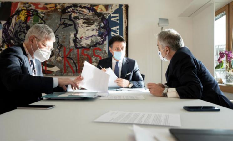 Recovery fund, vince Conte, ben 209 miliardi di euro riservati all'Italia