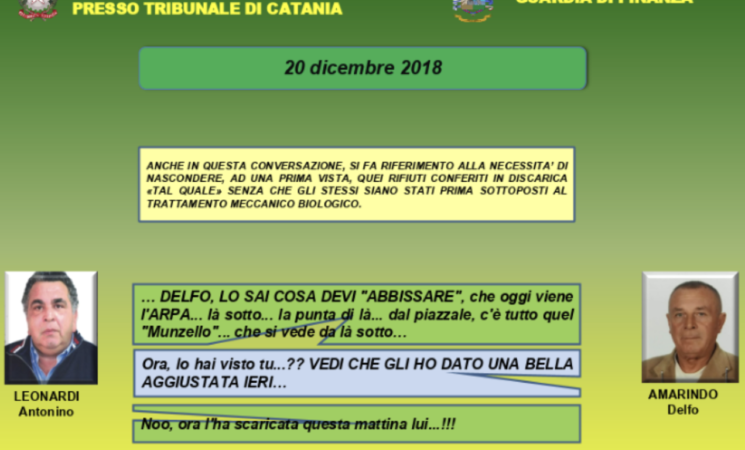 """Rifiuti, a giudizio da febbraio i due """"Re delle discariche"""" catanesi"""
