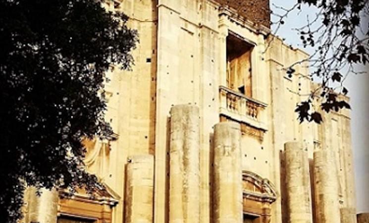 Catania, restauro portoni della Chiesa di San Nicolò l'Arena