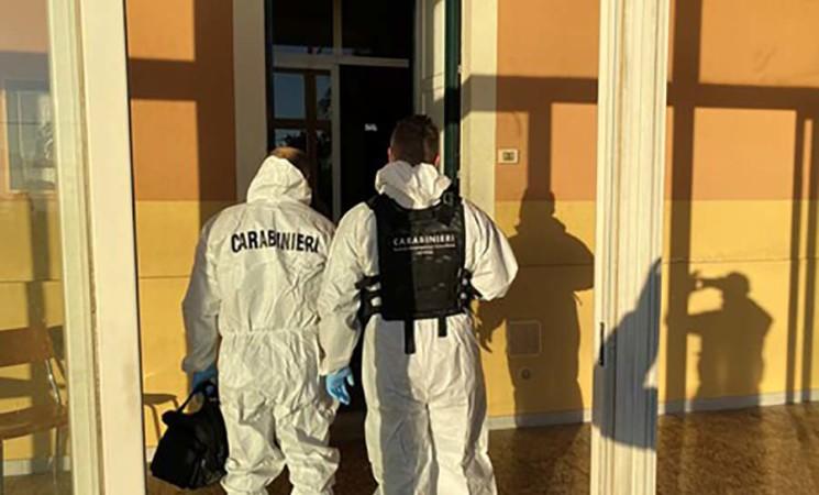 Incendio doloso in comunità recupero da droga nel catanese