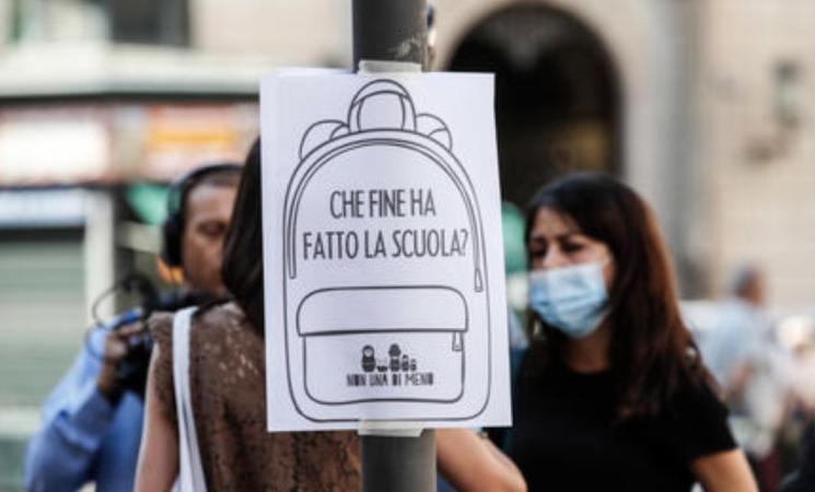 Scuola, dad, pc spenti per protesta e ristori formativi