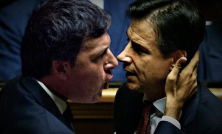 Crisi, si sposta in Parlamento la sfida tra Giuseppe Conte e Matteo Renzi