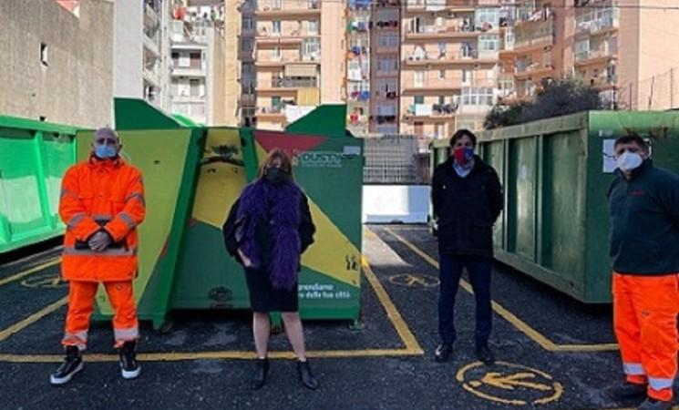 Rifiuti, nasce altro punto eco mobile per differenziare i rifiuti