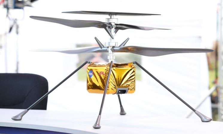 Il mini elicottero della Nasa che volerà su Marte