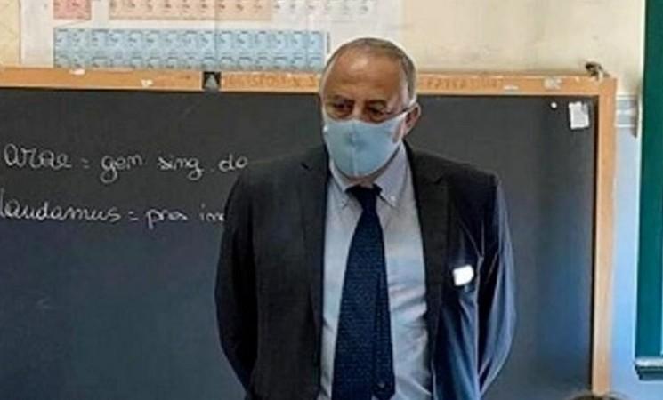 Palermo, l'assessore Lagalla in vista in due licei