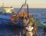 Fermati pescherecci egiziani a largo di Lampedusa