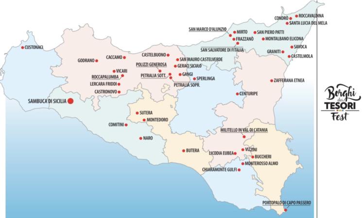 Borghi dei Tesori, network tra quarantadue piccoli Comuni