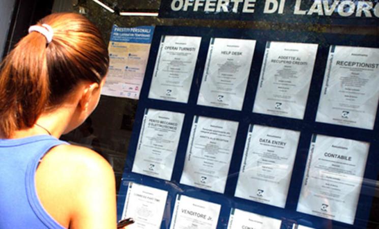 Istat, persi in Italia 945.000 posti di lavoro