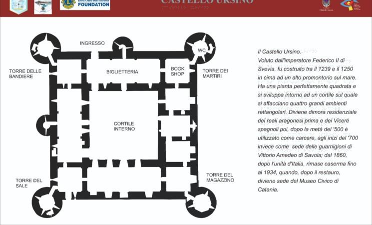 Catania, Lions finanziano progetto turismo accessibile per non vedenti