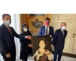 Sant'Agata 2021: a Palazzo degli Elefanti l'omaggio in pittura di una giovane artista