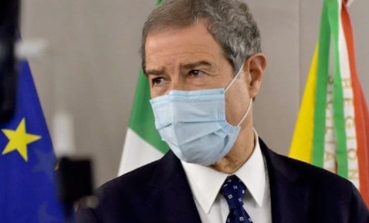 """Musumeci: quattro nuove """"zone rosse"""" in Sicilia"""