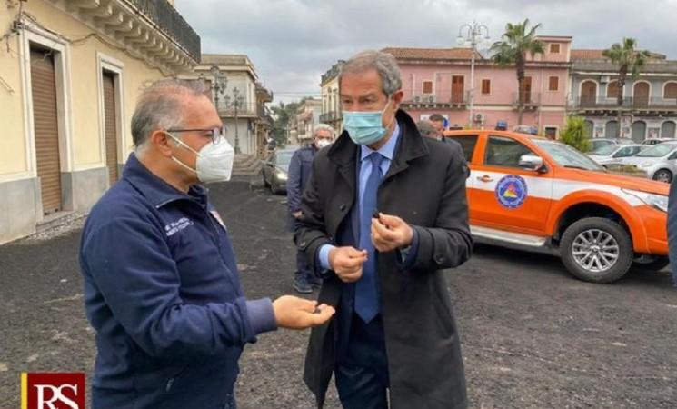 Etna, stato di crisi e 1 mln euro a sostegno delle aree più colpite