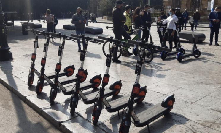 Palermo, nuova flotta di monopattini elettrici sharing