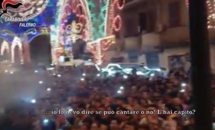 Mafia, Palermo, il clan organizzava feste religiose rionali