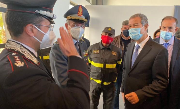 Vaccino, Musumeci inaugura a Catania il secondo Hub in Sicilia