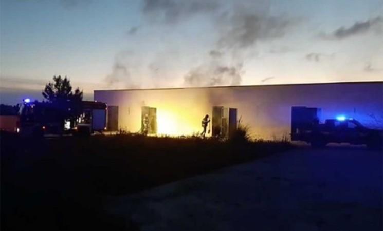 Mazara del Vallo, un incendio distrugge l'archivio comunale