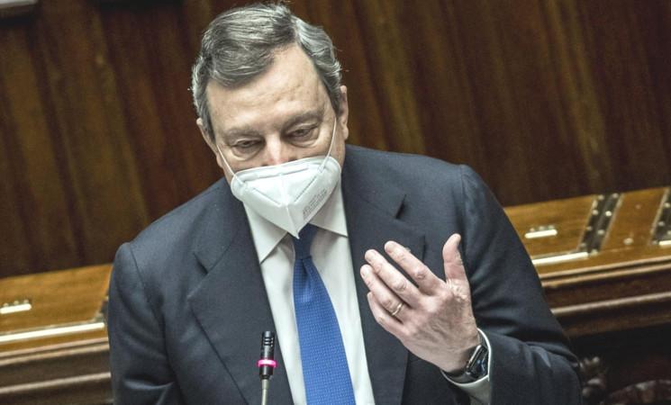 Recovery, ok dal Parlamento, Draghi parla di Ponte, però...